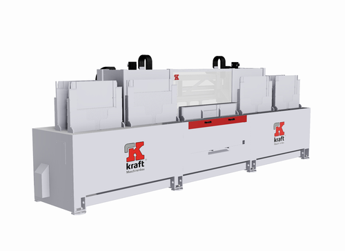 Assembly machine for door sweeps